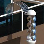 Ecoinvenzionissima: eolico e solare, in uno, sul tuo balcone