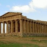 Il centro storico di Agrigento e' a rischio crolli