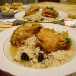 Le ricette di Elena, una cena a base di pesce, couscous e frittelle dolci