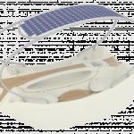La barca ad energia solare: un' illuminazione tutta italiana