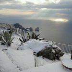 Foto del giorno/ La neve a Capri