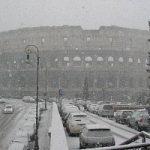 Roma sotto la neve. Viabilità in crisi, le info utili
