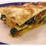 Ricetta vegetariana, lasagne alle verdure