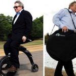 Ecoinvenzioni, la bici elettrica con il manubrio dietro il sedile. Il video
