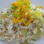 Ricetta, risotto ai fiori di zucca