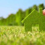 La casa sostenibile e' di terra cruda e lana