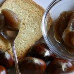 Ricetta, confettura di castagne