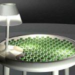 Ecoinvenzioni. Il tavolo che produce energia con il muschio