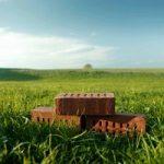 La casa ecologica si costruisce con i mattoni di carta riciclata