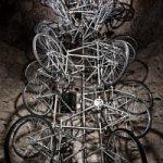 Il riciclo diventa arte: A San Gimignano una mostra di bici usate