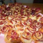 Ricetta, roselline rustiche al salame