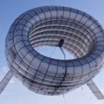Eolico ad alta quota: l'impianto che si gonfia come un pallone aerostatico