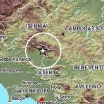 Forte Terremoto in Campania: scossa di magnitudo 4.9