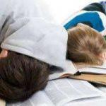 Chi dorme…studia