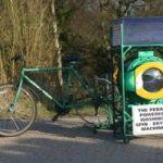 Ecoinvenzioni: la bici che produce energia per fare il bucato