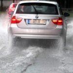 Piogge su Roma: raccordo allagato
