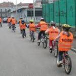 In bici in citta': il gruppo fa forza e sicurezza