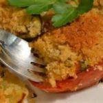 Ricetta light, contorno di verdure gratinato