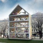 Vienna, casa delle amache: il relax è sostenibile