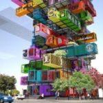 L'albergo modulare costruito con i container riciclati