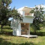 La casa in legno mobile e trasportabile