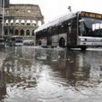Maltempo su Roma. Vigili del Fuoco ancora a lavoro