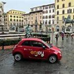 Le 500 rosse invadono Firenze: il carsharing Eni arriva nel capoluogo Toscano
