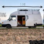 Se il vecchio furgone diventa una nuova casa alimentata a pannelli solari