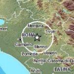 Terremoto ad est Roma