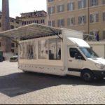 A Roma primo veicolo che stocca energia grazie all'idrogeno