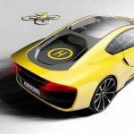 Appetito alla guida? Il drone integrato nell'auto andrà a prendervi uno spuntino