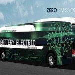 Anche il bus diventa elettrico e supera i 1100 km al giorno