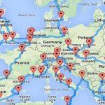 Il viaggio perfetto per scoprire l'Europa. Un algoritmo ci disegna il percorso