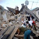 La terra trema nell'Italia centrale. Amatrice non c'è più