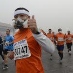 Evitate di fare sport all'aperto nei giorni di picco dello smog