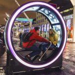 Ruote interattive giganti per accendere Montreal