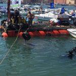 Raccolti 100 pneumatici nel mare di Anzio grazie al progetto Marevivo