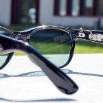 L'energia può arrivare anche dalle lenti degli occhiali da sole