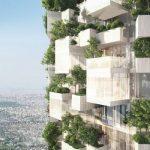 La prima foresta verticale francese