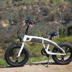 E-bike in testa